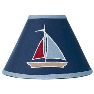 Nautical Nights Sailboat Boys Changing Pad Cover Baby