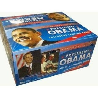 Barack Obama Topps Collector Trading Cards Box Set (Inaugural Edition)