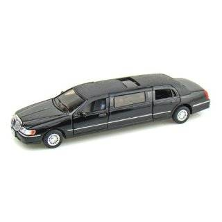 Kinsmart 1/38 Scale Diecast 1999 Lincoln Town Car Stretch Limousine in