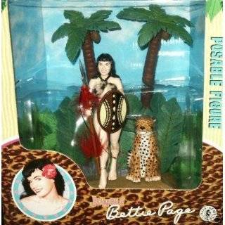 Bettie Page Dress Up Magnet Set Toys & Games