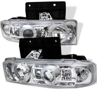 Spyder Auto Chevy Astro/GMC Safari Black Halogen Projector