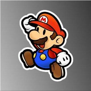 Super Mario Bro Bullet Bill Car Decal / Sticker