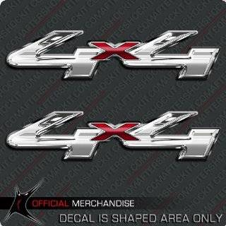 Full Color 4x4 Offroad Truck Decals in Black Automotive