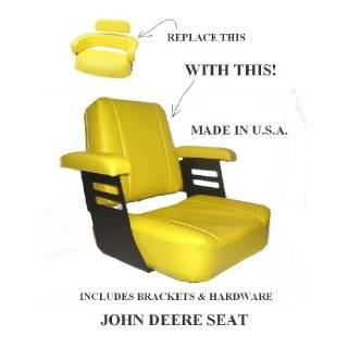 John Deere seat cover for compact utility tractors (Medium