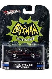 Hot Wheels Classic TV Series Batmobile Diecast Car