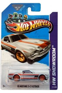 Hot Wheels 1965 Mustang 2 2 Fastback Diecast Car