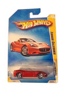 Hot Wheels Ferrari California Diecast Car
