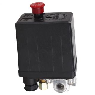 New Heavy Duty Air Compressor Pressure Switch Control Valve 90 PSI 120 PSI