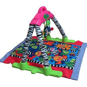 Infant Play Mat Baby Activity Gym w Music Fun Safe