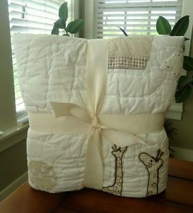 Pottery Barn Kids Baby Balloons Nursery Bedding Toddler Quilt Sham Set