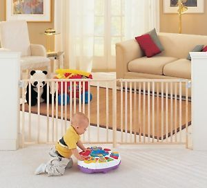 Supergate Extra Wide Swing Baby Child Kids Cat Dog Pet Safety Fence Gate