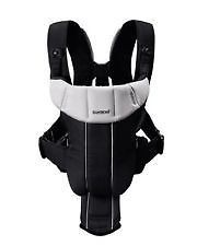 BabyBjorn Baby Carrier Active Black Silver Front Rear Facing Pack Infant Child