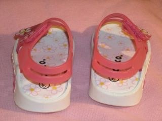 Cute Baby Girls Pink White Sandals Sz 3 by Circo