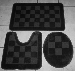 Bathroom Mat Set Bath