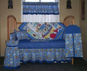 Baby Boy Crib Bedding Sets Blue