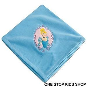 Cinderella Throw Plush Blanket Fleece Disney Princess