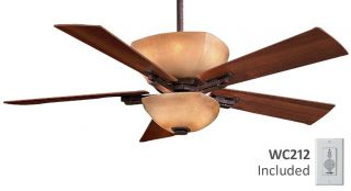 "Minka Aire F812 IO Lineage 54"" Ceiling Fan with Wall Control"