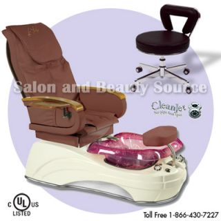 Pedicure Unit Foot Spa Chair Lounge Gulfstream La Tulip