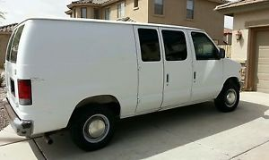 1997 Ford Econoline E250 with Diesel Truck Mounted Equipment for Carpet Cleaning