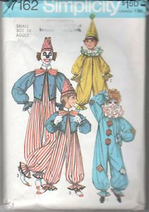 Adult Clown Halloween Costumes