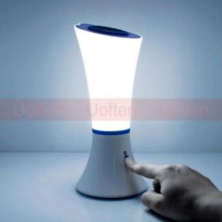 Touch Control Unique Rechargeable Desk Bedside Reading Dimming LED Lamp Light