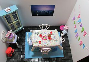 Barbie Furniture Lot Happy Birthday Dining Room