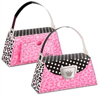 Diva Zebra Print Empty Favor Boxes 4