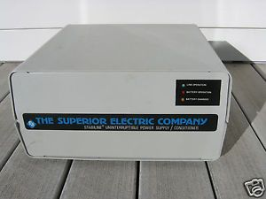 Superior Electric Stabiline Uninterruptible Power Supply Conditioner UPS 61005U