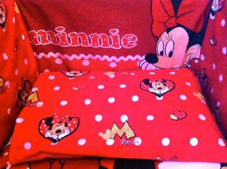 Disney Minnie Mouse Red Boxes Bedding Set All Sizes Available