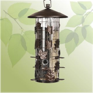 Woodstream Perky Pet 337 Squirrel Be Gone III Pesk Resistant Wild Bird Feeder
