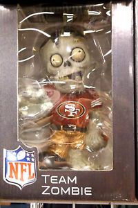 Zombie NFL Football Forever Collectibles San Francisco 49er's Garden Gnome New