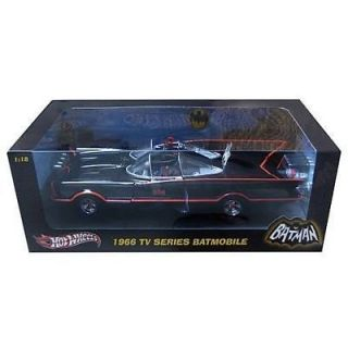 Hot Wheels 1966 TV Series Batmobile 1 18 Diecast Car