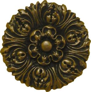 Ceiling Medallion Ornament Accent Rosette SF203109 Antq Gold Brass Copper Silver