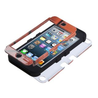Basketball Sports Collection Black Tuff Hybrid Phone Case Apple iPod Touch 5th