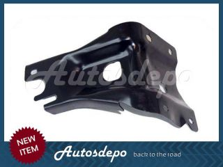 93 95 Nissan Hardbody Pickup 2WD Front Bumper Center Bar End Cap Chr Bracket 5pc