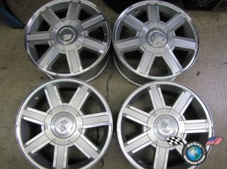 07 10 Cadillac Escalade ESV Factory 18 Wheels Rims