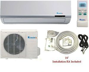 12000 BTU HR DC Inverter 15SEER Mini Split Ductless Heat Pump Air Conditioner