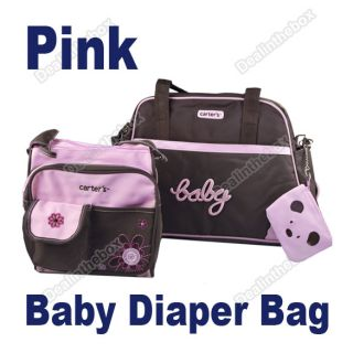 New 5pcs Style Multi Function Baby Diaper Nappy Changing Bag