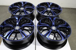 "17"" Effect Wheels Rims 5x100 5x114 3 Acura Legend RDX RSX TSX TL Accord Civic SI"