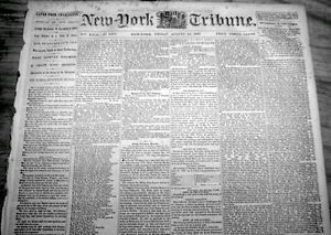 1863 Civil War Newspaper 54th Mass Negro Regiment Deaths Battle of Fort Wagner