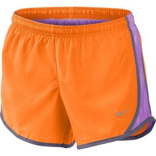 Nike Youth Girls Dri Fit Bright Orange Tempo Track Running Shorts Kids s M L XL