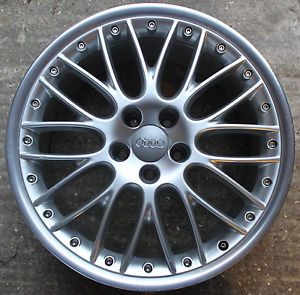 "One Audi A8 19"" 10 Y Spoke Alloy Wheel 9J s Line Genuine 4E0601025AM Mesh"