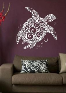Decorative Sea Turtle Vinyl Wall Art Decal Sticker Home Decor