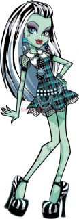 Monster High Frankie Stein Decal Removable Wall Sticker Home Decor Art Bedroom