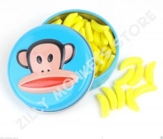 Paul Frank Julius Banana Candies Collectible Tin Birthday Party Gift Favors