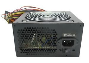 New Shark® 750W Gaming PC Silent 120mm Fan ATX 12V Power Supply Black SATA PSU
