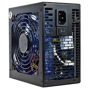 Cool Power Gamer CP G980 980W 20 4 Pin SATA Blue LED Fan ATX Power Supply PSU