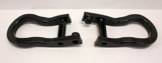 2007 2013 Chevy Silverado GMC Sierra Factory Black Tow Hooks GM 19159115