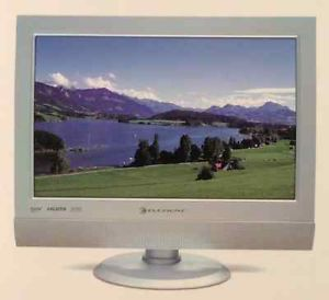"Element FLX 1510 15"" LCD Wide Screen HDTV Computer Monitor Combo"
