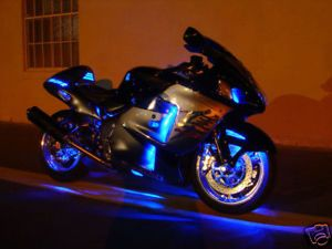 36 LED Motorcycle Lights Kit Suzuki GSX1300R Hayabusa